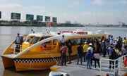 Buýt sông TP.HCM chính thức hoạt động từ ngày 25/11