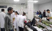 Nghệ An: Sập giàn giáo, 10 người bị thương