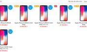 Trước ngày lên kệ chính thức, giá iPhone X xách tay