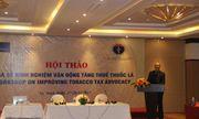 Hội thảo chia sẻ kinh nghiệm vận động tăng thuế thuốc lá tại Ninh Bình