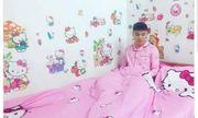 Nam sinh yêu màu hường, mê Hello Kitty được phong là 'Hồng công chúa'