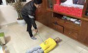 Người cha bạo hành dã man con trai 10 tuổi khai gì?