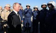 Tổng thống Nga Putin bất ngờ thăm Syria, tuyên bố chiến thắng IS