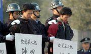 Hàng nghìn người dân Trung Quốc tới xem tuyên án tử hình 10 tội phạm