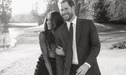 Công bố ảnh đính hôn ngọt ngào của Hoàng tử Harry và Meghan Markle