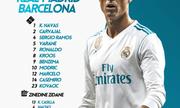 Real 0-0 Barca: Ronaldo làm rung lưới Barca nhưng...