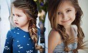 Những kiểu tóc tết đáng yêu cho bé gái đi chơi dịp tết Dương lịch 2018