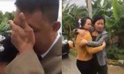Tiễn con về nhà chồng, bố khóc nức nở ôm chặt con gái