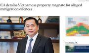 Hành khách Phan Van Anh Vu đang trên chuyến bay Singapore-Hà Nội