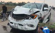 Truy tìm tài xế xe bán tải tông tử vong 2 nữ sinh rồi bỏ chạy