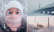 Tò mò cuộc sống tại ngôi làng lạnh nhất thế giới: Vừa ra đường, lông mi đã đóng băng