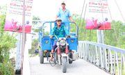Cây cầu Dr Thanh đánh thức tiềm năng kinh tế vùng nuôi tôm của đồng bào Khmer