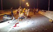 Xe máy đấu đầu, 2 người chết, 1 người bị thương