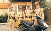 Hà Nội: CSGT bắt thanh niên đi xe tay ga mang biển số giả