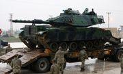 Bộ binh Thổ Nhĩ Kỳ đã tiến quân vào Syria
