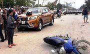 Khởi tố tài xế ôtô tông CSGT và nhiều người dân bị thương