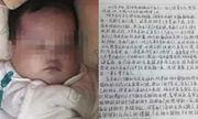 Cặp vợ chồng trẻ bỏ rơi con gái 6 tháng tuổi cùng lá thư đẫm nước mắt