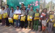 Tập đoàn Tân Hiệp Phát trao hơn 300 phần quà Tết cho người dân tỉnh Bình Phước