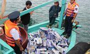 8.570 bao thuốc lá ngoại không có giấy tờ bị thu giữ
