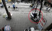Clip: Thanh niên bịt mặt, bẻ khóa trộm xe tay ga trong 5 giây