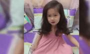 Bé gái 5 tuổi 'đáng yêu nhất Vịnh Bắc Bộ' mếu máo xin mẹ cho nghỉ Tết