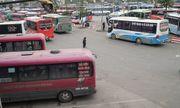 Hà Nội: Ngỡ ngàng bến xe vắng khách ngày cận Tết