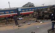 Hưng Yên: Va chạm với tàu hỏa, 1 người tử vong