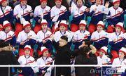 Đội cổ động Triều Tiên tức giận khi gặp người giả Kim Jong Un