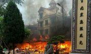 Nguyên nhân đền Mẫu Đồng Đăng bốc cháy dữ dội