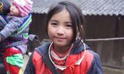Dân mạng tan chảy trước gương mặt đẹp hút hồn của cô bé người H\'Mông