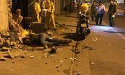 Xe máy lao vào tường nhà dân, 2 thanh niên tử vong