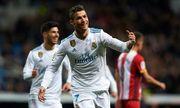 Video Real 6-3 Girona: Ronaldo ghi 4 bàn thắng