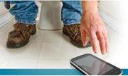 Hy hữu nam thanh niên bị liệt hoàn toàn vì ngồi nghịch điện thoại trong toilet