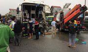 Tài xế xe khách trong vụ đâm xe cứu hỏa trên cao tốc Pháp Vân lên tiếng