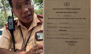 Vụ CSGT Cát Lái từ chối bằng lái quốc tế: Phòng CSGT TP.HCM vào cuộc