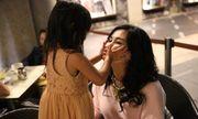 Biểu cảm đặc biệt của Diva Thanh Lam chỉ có khi ở bên cháu ngoại