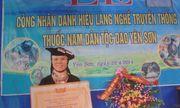 Lương y Triệu Thị Hòa nổi tiếng với bài thuốc nam dân tộc Dao chữa khỏi các bệnh xương khớp