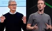 Mark Zuckerberg và Tim Cook lại