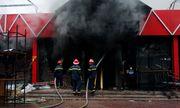 Quán bia lớn tại Hải Phòng cháy dữ dội nghi do hàn xì