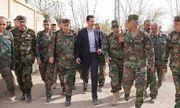 Hậu không kích, Tổng thống Syria vẫn đi làm bình thường