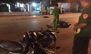 Bình Dương: 3 xe máy tông liên hoàn trong đêm, 5 người bị thương