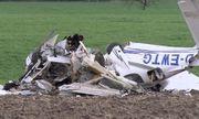 Rơi máy bay ở Đức, ít nhất 2 người thiệt mạng