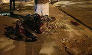 Xe con đâm trực diện xe máy, bé trai 5 tuổi tử vong, bố mẹ bị hất văng lên vỉa hè