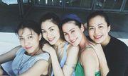Hội bạn thân Tăng Thanh Hà tái hợp khiến fan thích thú