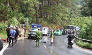Tai nạn trên đèo Prenn: Xe máy đấu đầu ô tô, 2 người thương vong