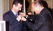 Tổng thống Syria trả lại huân chương Bắc đẩu Bội tinh cho Pháp