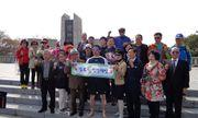 Người đàn ông chạy chân trần 427km để ủng hộ hội nghị thượng đỉnh liên Triều