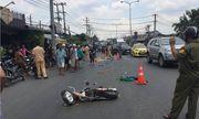 Một nữ sinh trường y bị xe tải cán tử vong khi đi học về