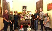 Ban lãnh đạo Tập đoàn quản lý California (CMG.ASIA) thắp hương Đại tướng Võ Nguyên Giáp