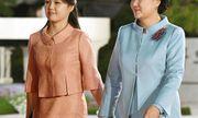 """Phu nhân Hàn – Triều """" tay trong tay"""" cùng nhau dự tiệc tối"""